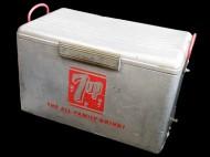 50's 7UP CoolerBox ヴィンテージクーラーボックス アルミ製 買取査定
