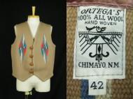 CHIMAYO Ortega's Chimayo Vest オルテガ チマヨベスト 買取査定