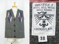 CHIMAYO Vest Ortega's オルテガ チマヨベスト スクエアフロント 買取査定
