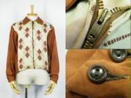 50's Vintage Gabardine Jacket ヴィンテージ ギャバジャケット ダイヤ柄 買取査定