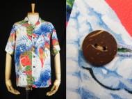 50's Vintage Aloha shirt 和柄 ハワイアンシャツ 買取査定