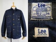 40's Lee リー 91-J DENIM COVERALL デニムカバーオール ハウスマーク 買取査定