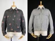 50's vintage gabardine jacket ギャバジャケット リバーシブル ダイヤ柄 買取査定