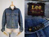 40's Lee リー 101-J DENIM JACKET 赤タグ デニムジャケット サイズ42 買取査定