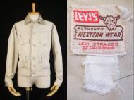 50's Vintage LEVIS ショートホーン ジャケット コットンサテン 買取査定
