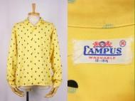 50's CAMPUS キャンパス gabardine shirts ギャバシャツ 買取査定