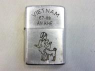60年代 VIET NAM 67-68 Zippo ベトナムジッポー lady dog 買取査定