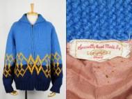 60's old cowichan sweater  カウチンセーター ダイヤ柄 買取査定