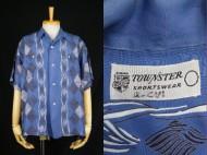 50's Aloha shirt ハワイアンシャツ ボーダー レーヨン 買取査定