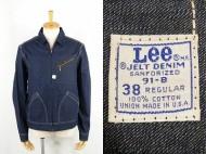 70's Lee リー 91-B デニムジャケット size 38 デッド 買取査定