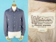 50's Western vintage gabardine jacket ギャバジン ジャケット 買取査定