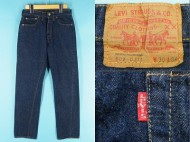 70's Vintage LEVIS リーバイス 502 66前期 濃紺 買取査定