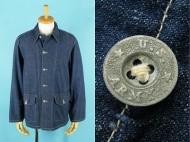 40's 米軍 USARMY デニム カバーオール メタルボタン 買取査定
