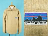 70's patagonia パタゴニア 白タグ ハーフジップ パイルジャケット 買取査定