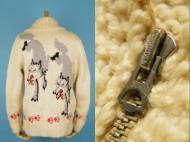 60's Cowichan Sweater カウチンセーター オオカミ柄 狼柄 買取査定