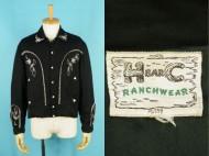50's HBARC vintage gabardine jacket ウエスタン ギャバジャケット 買取査定