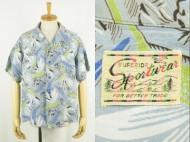 50's Aloha shirt SPORTSWEAR ハワイアンシャツ 買取査定