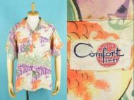 50's Aloha Comfort shirt ハワイアンシャツ 金魚 オールオーバー 買取査定