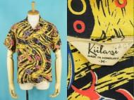 40's Aloha shirt Kiilani キイラニ ハワイアンシャツ オールオーバー 買取査定