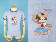 80's ディズニー ミッキー リンガーTシャツ 買取査定