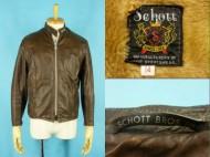 60's Schott シングル ライダースジャケット 黒タグ 14 買取査定
