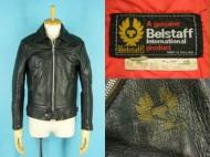 70's BELSTAFF ベルスタッフ 襟付 レザージャケット 英国製 買取査定