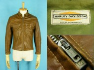70's HARLEYDAVIDSON ハーレーダビッドソン シングル ライダースジャケット 買取査定