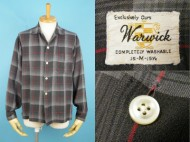 60's Warwick ボックス オンブレチェックシャツ 買取査定