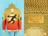 60's MARY MAXIM Cowichan sweater ボーリング柄 カウチン 買取査定