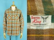 60's WINTER KING ウインターキング ヘビーネルシャツ マチ付き 買取査定
