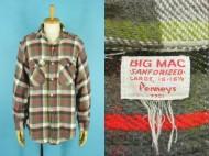 60's BIG MAC ビッグマック 長袖 ヘビーネルシャツ 買取査定