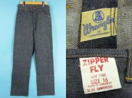 50's Wrangler ラングラー 11BZ デニムパンツ 縦ベル プラパッチ 買取査定