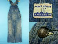 50's Powr House パワーハウス デニムオーバーオール 買取査定