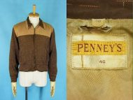 50's PENNY'S ペニーズ ギャバジャケット かすり柄 買取査定